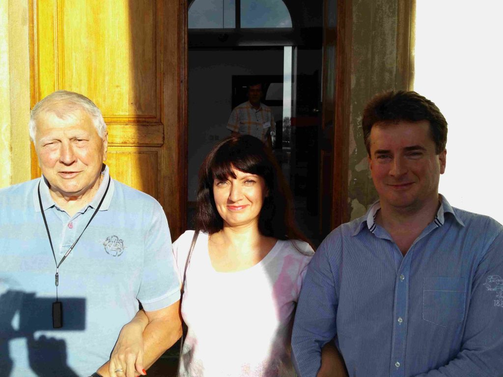Juraj Brabec, Natalia Ďačuk, Vasil Ďačuk